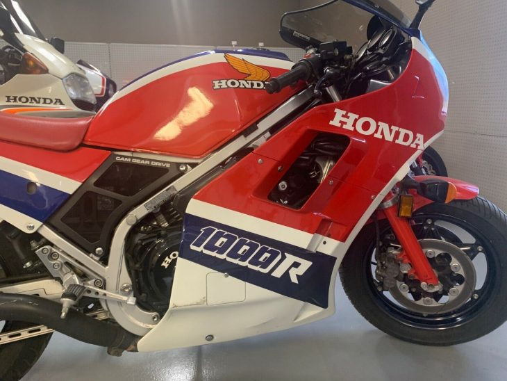 Going the Distance: 1985 Honda VF1000R