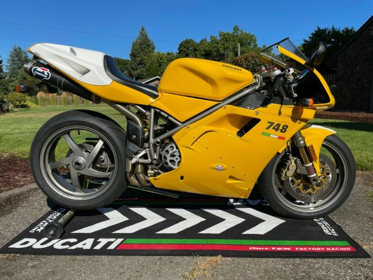 Up and Coming: 2001 Ducati 748S Monoposto