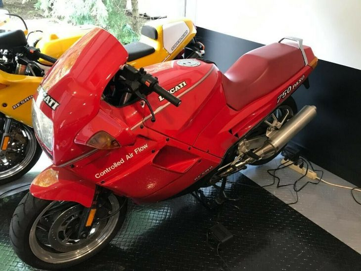 1987 Ducati Paso 750 with only 9,218 Miles!