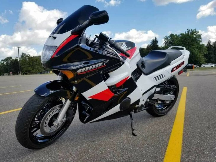 1994 Honda CBR1000F w/ only 4627 miles For Sale!