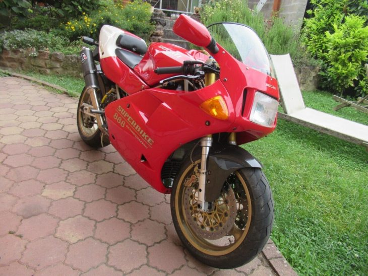 The French Connection: 1993 Ducati 888 SP5
