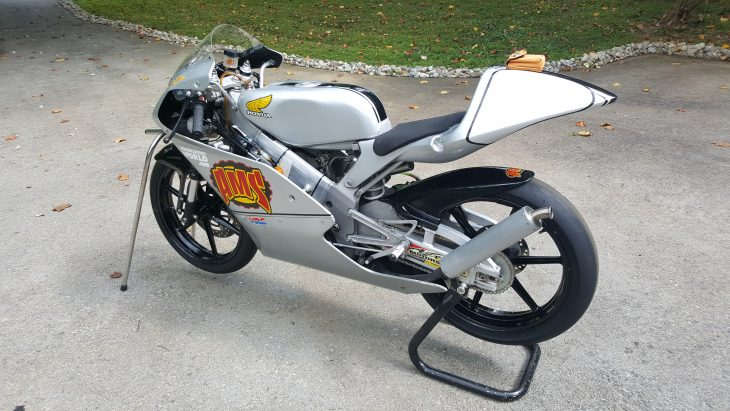 Featured Listing – 2006 Honda RS125R GP Racer!