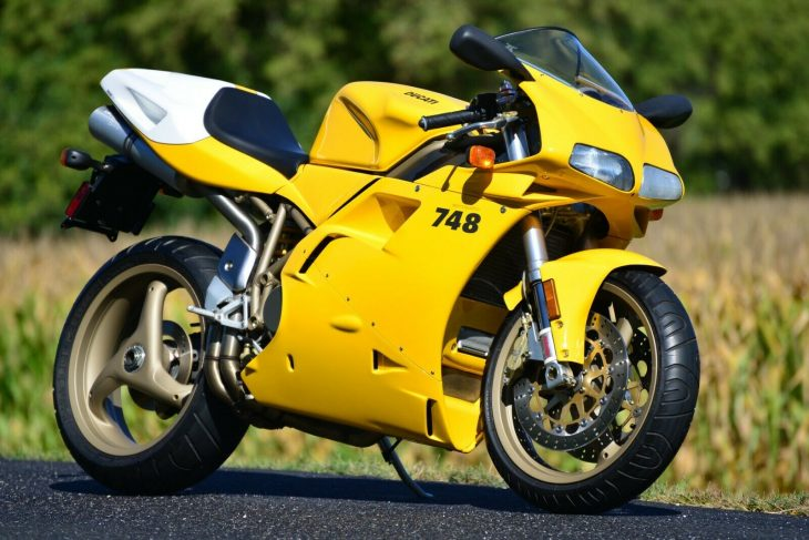 Battery Not Included – 2000 Ducati 748 with just 1,725 Miles !